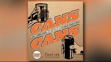 Get free beer and help St. Louisans in Schlafly's 'Cans for Cans' food drive