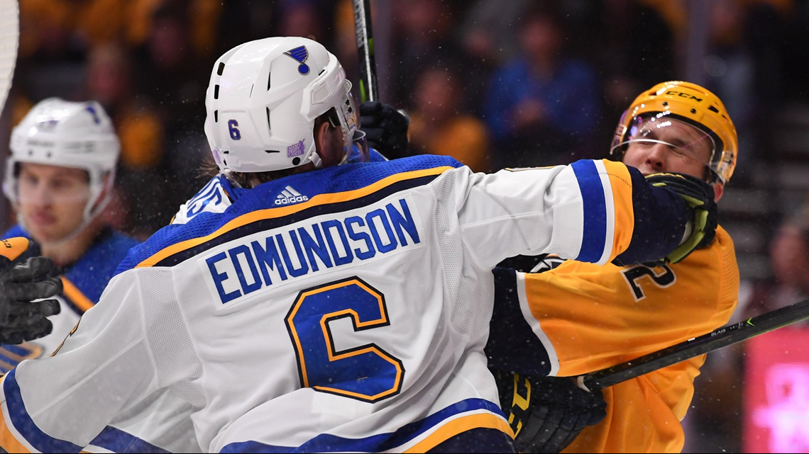 Edmundson in, Thomas out for Blues in Game 7
