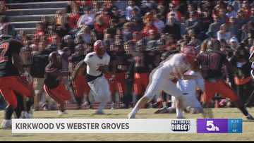 Kirkwood dominates Webster Groves in annual Turkey Day Game