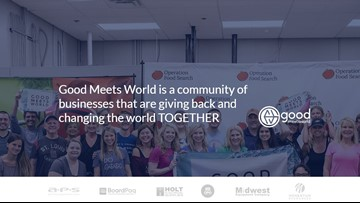 'Good Meets World' helps companies give back to their communities