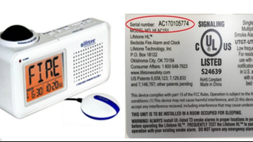 10K Bedside Fire Alarms For Hard-Of-Hearing Recalled Due To Alert 'Bed Shake' Failure