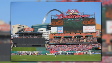 US women's soccer to play at Busch Stadium in 2019