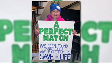 Perfect match: Bone marrow donor found for young Blues fan