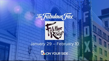 Five at the Fox Fiddler on the Roof