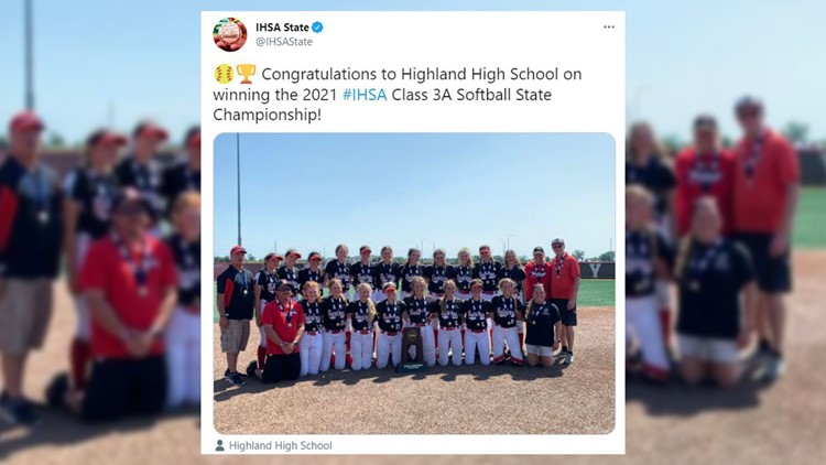 Highland softball wins first state championship in program history