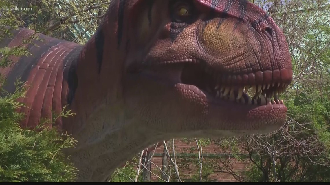 'Dinoroarus' is back from extinction at the Saint Louis Zoo