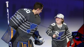 'Hello, St. Louis!' Laila Anderson crushes it introducing St. Louis Blues at All-Star Game