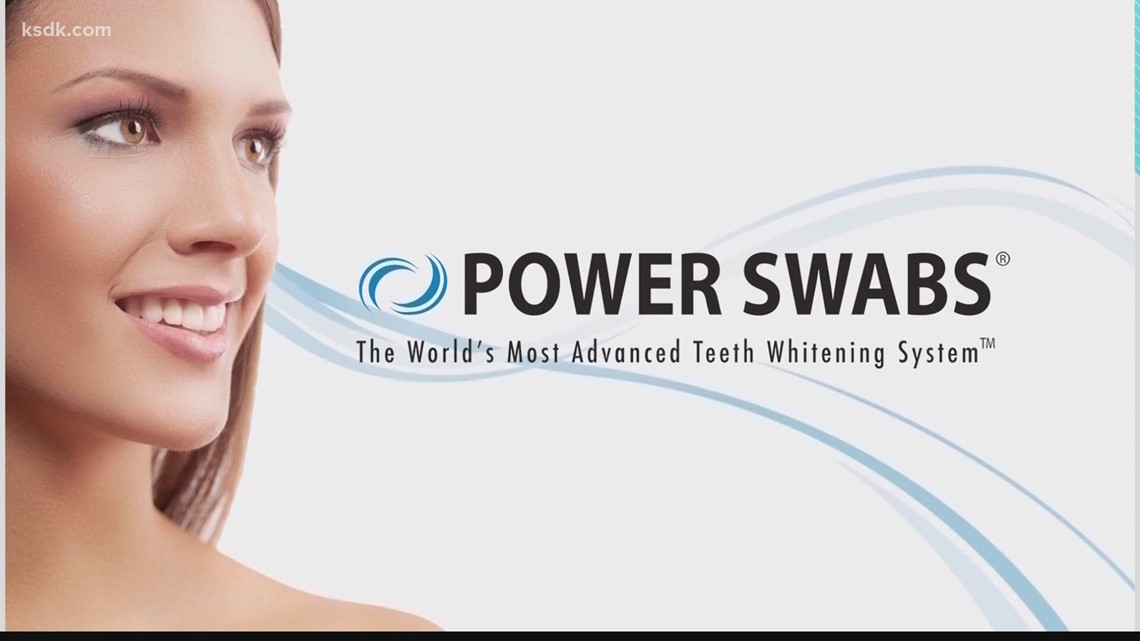 Power Swabs can start whitening your teeth in just 5-minutes