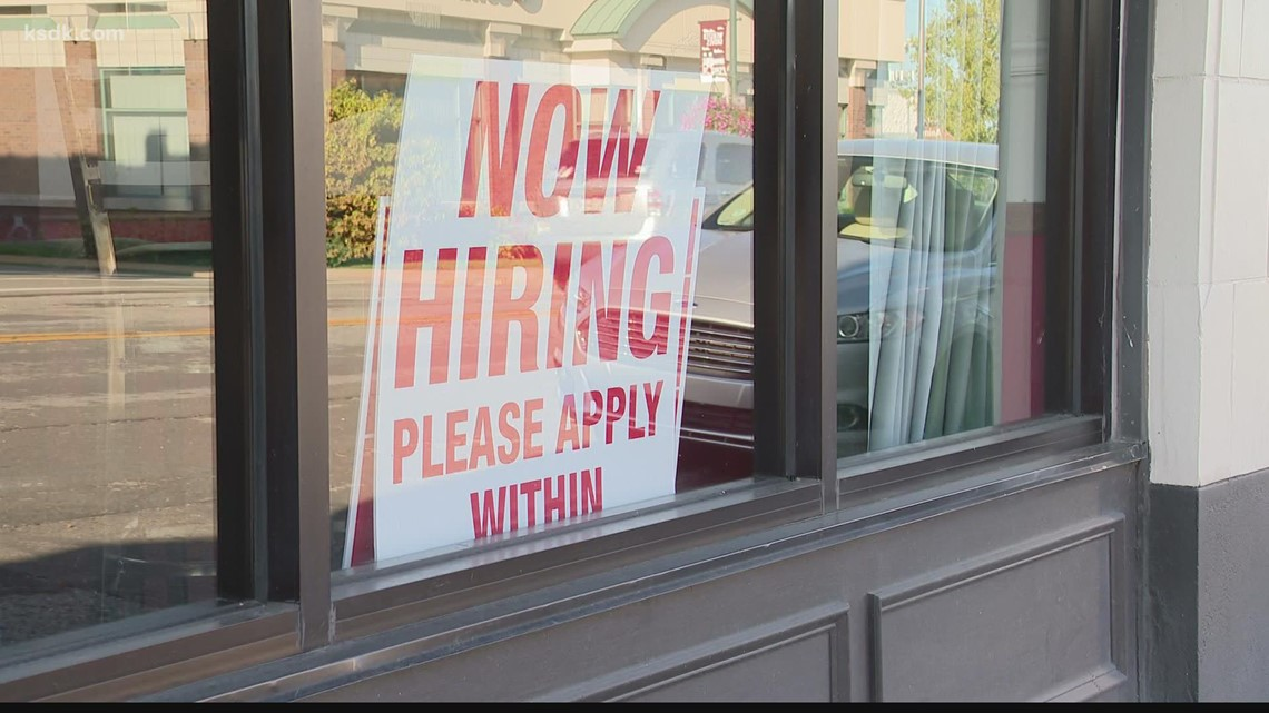 Sign of the times: St. Louis employers struggling to find workers, fill vacancies