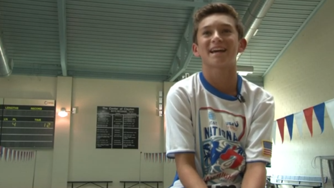 How the journey began for St. Louis County teen Olympic diver Tyler Downs