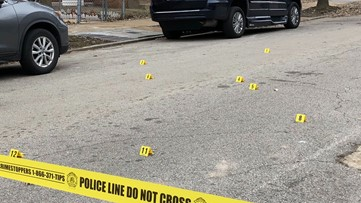 Girl shot inside car in south St. Louis