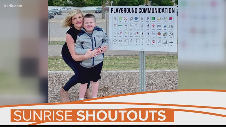 Sunrise Shoutout: Mom, school staffers create sign to help boy with autism communicate