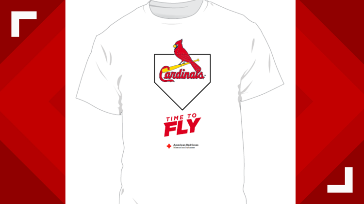 It's Time To Fly to the annual Red Cross St. Louis Cardinals Blood Drive June 18-20