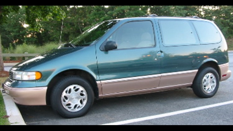 Police believe they may be traveling in a van like this one.