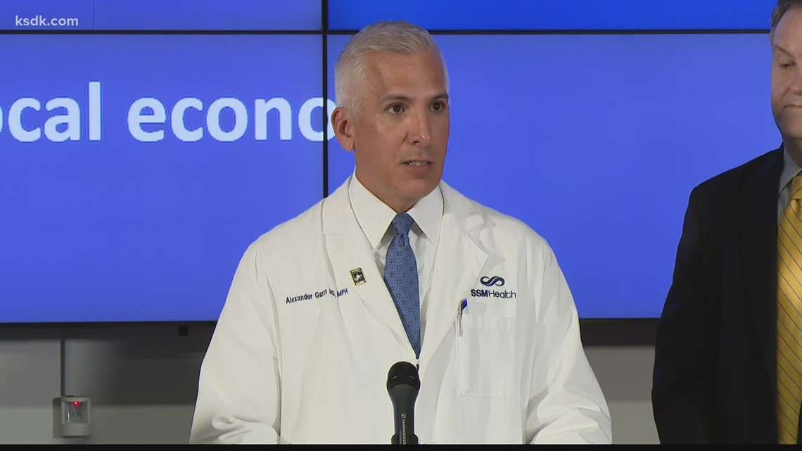 St. Louis pandemic task force gives final briefing