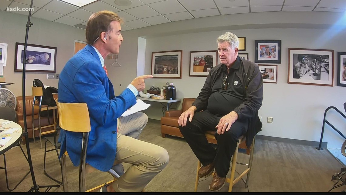 Mike Shannon talks about wrapping up 50-year career as voice of the Cardinals