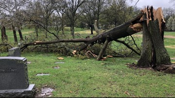 Overnight storms cause damage, knock out power to thousands in the area