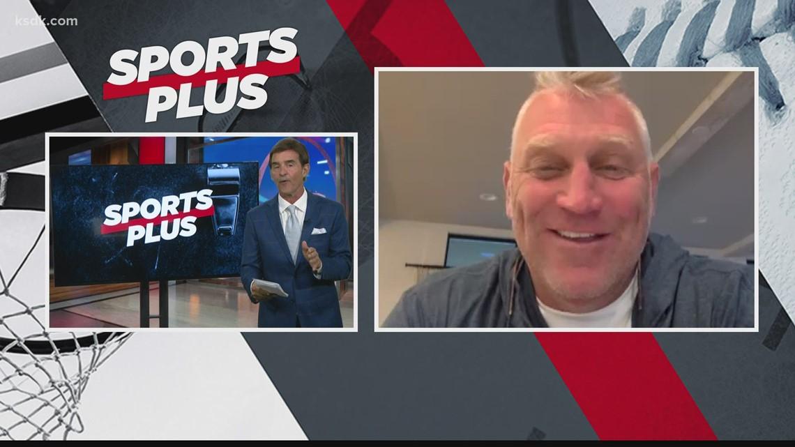 Brett Hull recalls Blues memories on Sports Plus