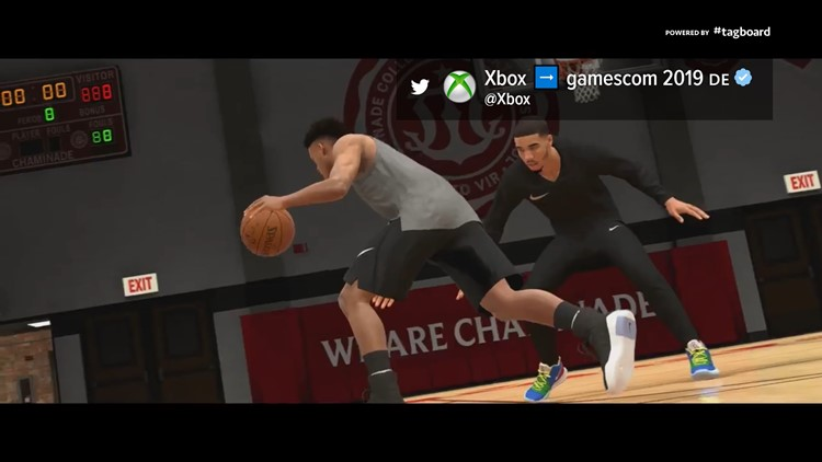 Chaminade makes appearance in NBA 2K20 MyCareer trailer