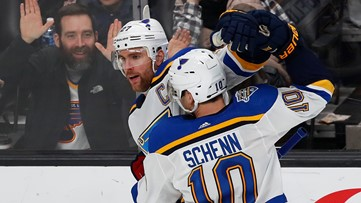 Blues haven't played their best hockey yet but continue to find ways to win
