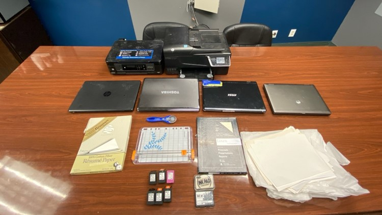 counterfeiting equipment