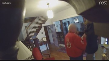 Video shows 79-year-old man robbed, attacked in his home