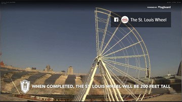 Watch: Time-lapse video shows St. Louis Wheel come full circle