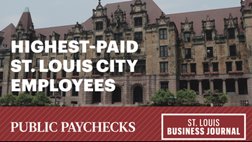 Public paychecks: The highest-paid St. Louis city employees