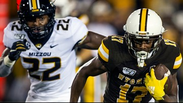 Missouri stunned in loss to Wyoming, 37-31