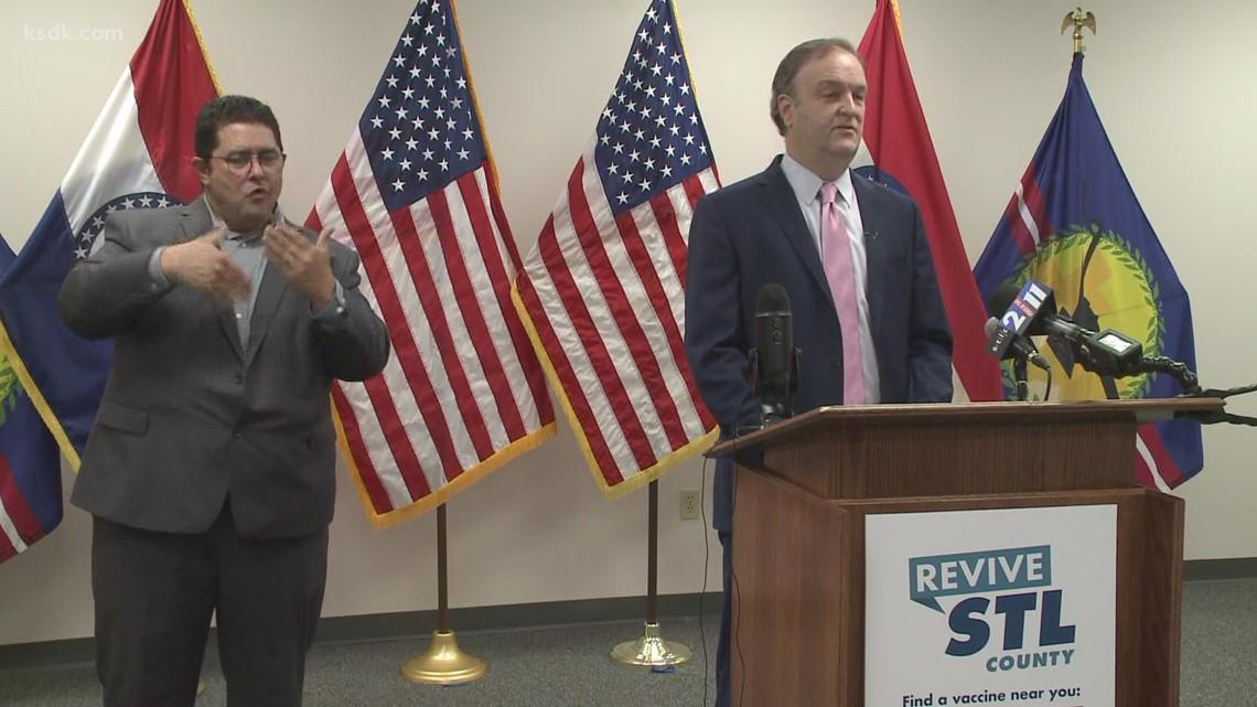 St. Louis County executive announces new mask mandate