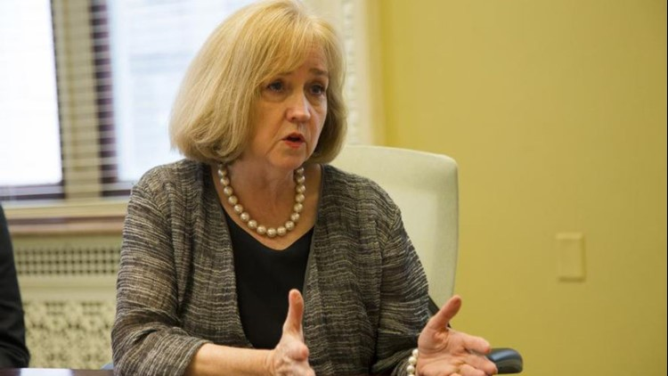 In departing comments, Krewson says pandemic made relationship with Page 'especially difficult'