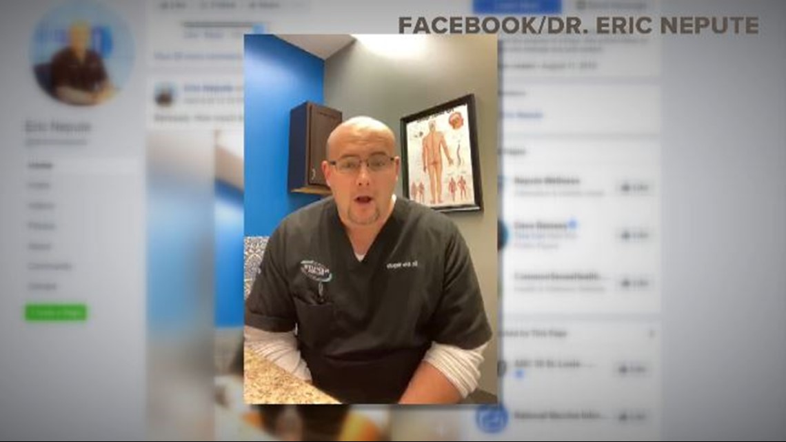 St. Louis County chiropractor first in US charged under new COVID-19 a... image