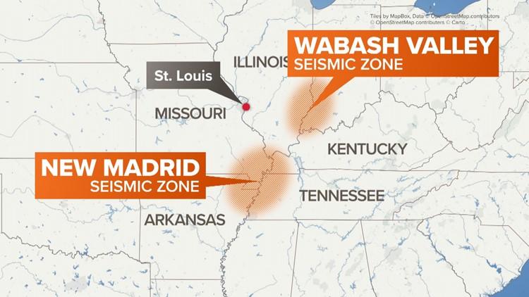 earthquake zones new madrid wabash valley