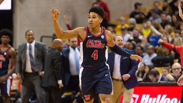 Tyree leads Ole Miss charge past Mizzou 75-67