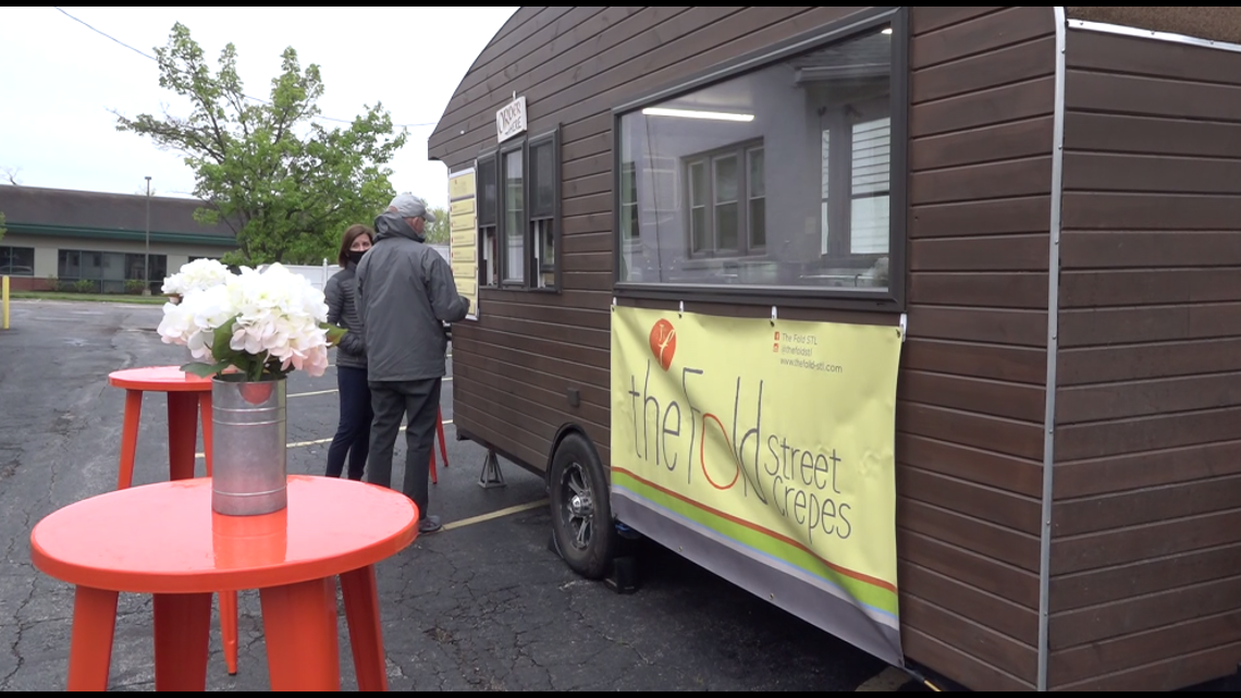 This St. Louis area food truck offers sweet and savory crepes