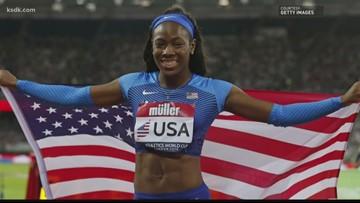 St. Louis's Henderson beats Olympics' best