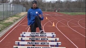 The 2020 Olympics may be in jeopardy, but St. Louis' Justin Robinson dreams on