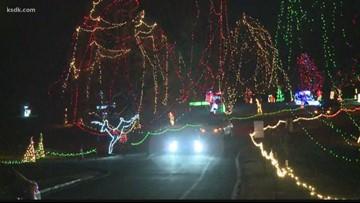 Tilles Park Christmas Lights.It Still Feels Like Summer But Tilles Park Is Getting Ready