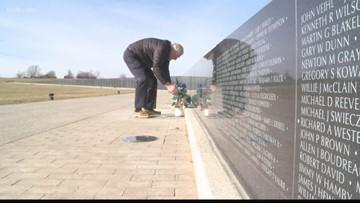 Vietnam vet delivers on promise to honor fallen soldiers
