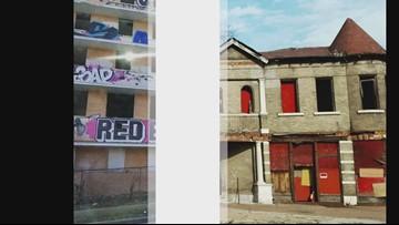 Haunting photos show forgotten properties in St. Louis