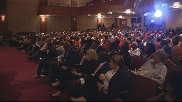 'We are hurting bad' | Frustrated St. Louisans pack gun violence town hall meeting