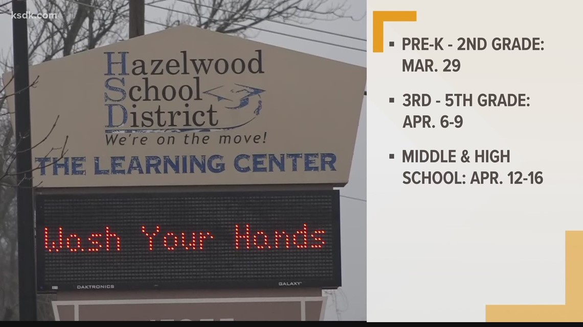 Hazelwood middle, high schoolers return to in-person learning