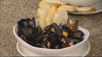 Recipe of the Day: Green Curry Mussels