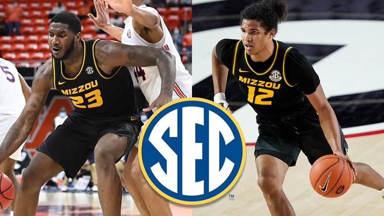 Mizzou's Dru Smith and Jeremiah Tilmon earn all-SEC honors