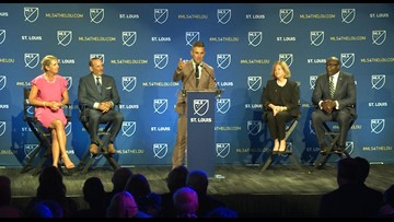 MLS Commissioner, St. Louis ownership talk after announcement of new team