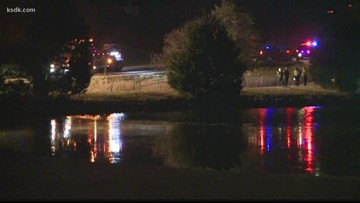 Two dead after their car plunges into Kirkwood pond