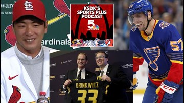 Sports Plus Podcast: Cardinals sign Kim, Perron lighting it up and Drinkwitz takes over