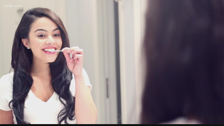 Achieve a whiter smile in minutes with Power Swabs