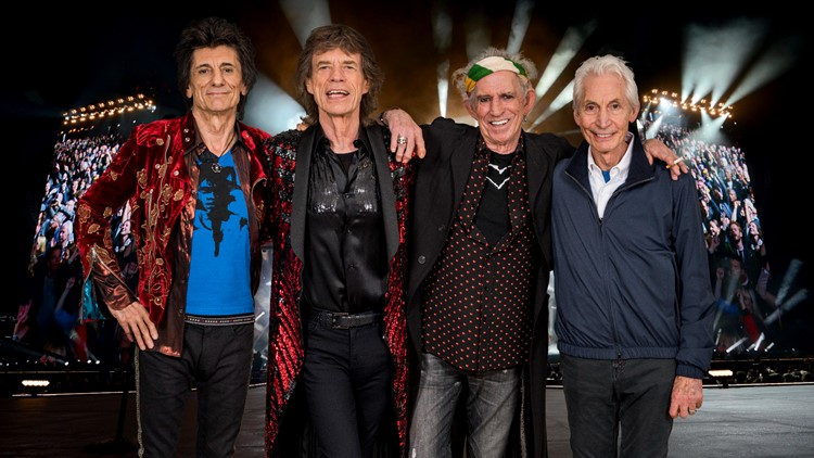 The Rolling Stones kicking off 2021 tour in St. Louis