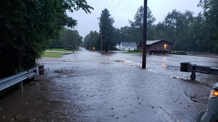 fox creek road flash flooding eureka
